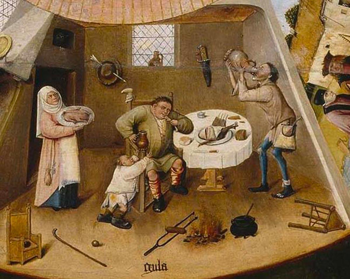 ll peccato di gola di Jheronimus Bosch