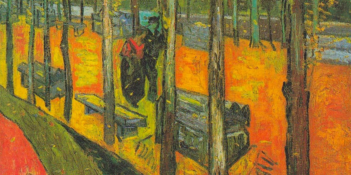 Alyscamps di Van Gogh